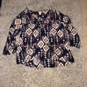 Mossimo tunic